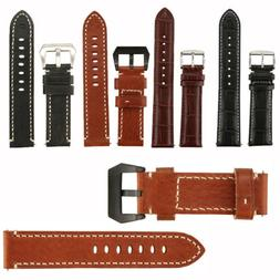 X5/10 20/22/24MM NAGATA GENUINE LEATHER WATCH BAND STRAP REP